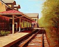 At Lambertville Station