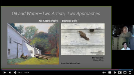 Oil and Watar at Morven Museum