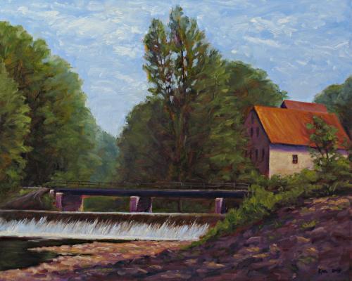 Prallsville Mills Spillway