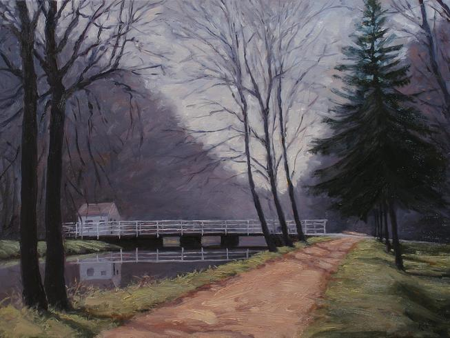Canal at Griggstown