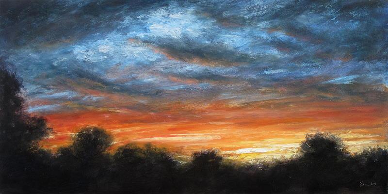 Sunset, Mercer Meadows