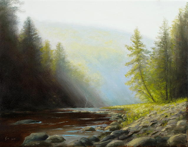 Neversink Morning Mist