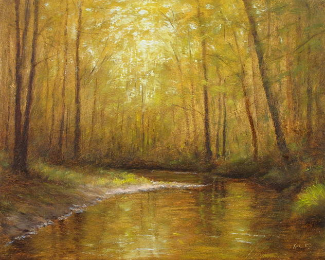 Autumn on the Middle Brook